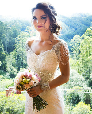 Real Brides - Select images of brides who were married from 2010, wearing Helena Couture Designs.