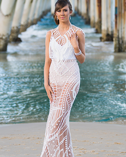 Avant-Garde Dress - Cutting-edge, adventurous, artistic dress with a sense of theatre, perfect for the alternative bride.