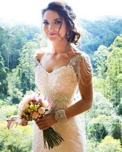 Real Brides - Select images of brides who were married from 2015, wearing Helena Couture Designs.