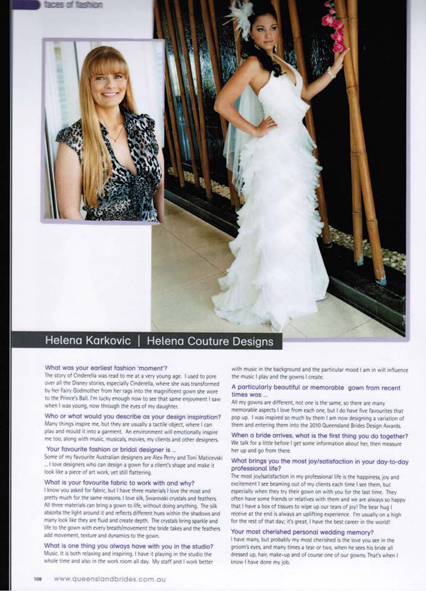 Queensland Brides Magazine Spring 2010
