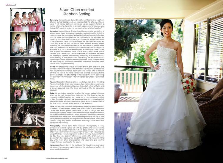 Gold Coast Weddings Magazine