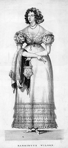 The invention of the ladies handbag became popular when the skirts became fitted and were unable to disguise the bulky contents of the pocket.