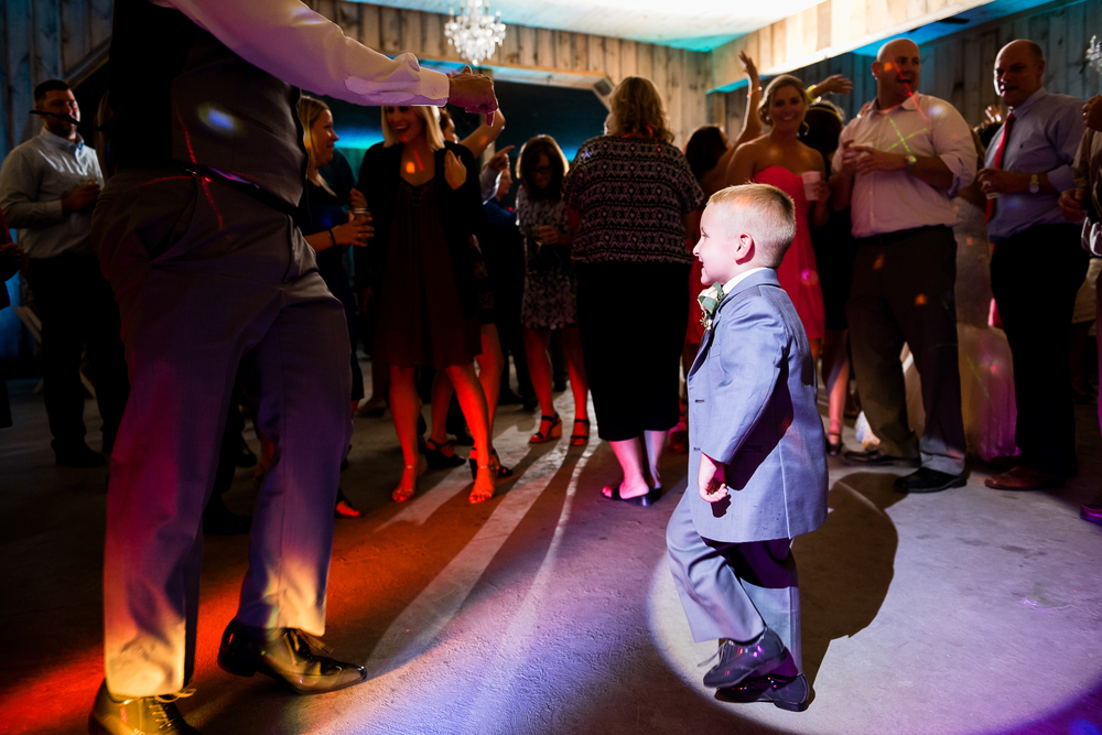 ring bearer dancing