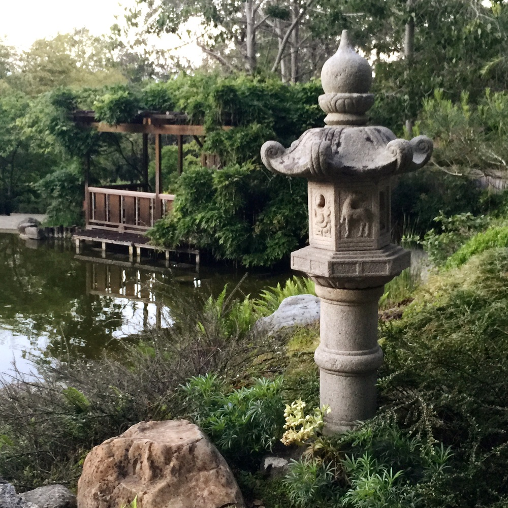 iPhone | Japenese Gardens | Evening