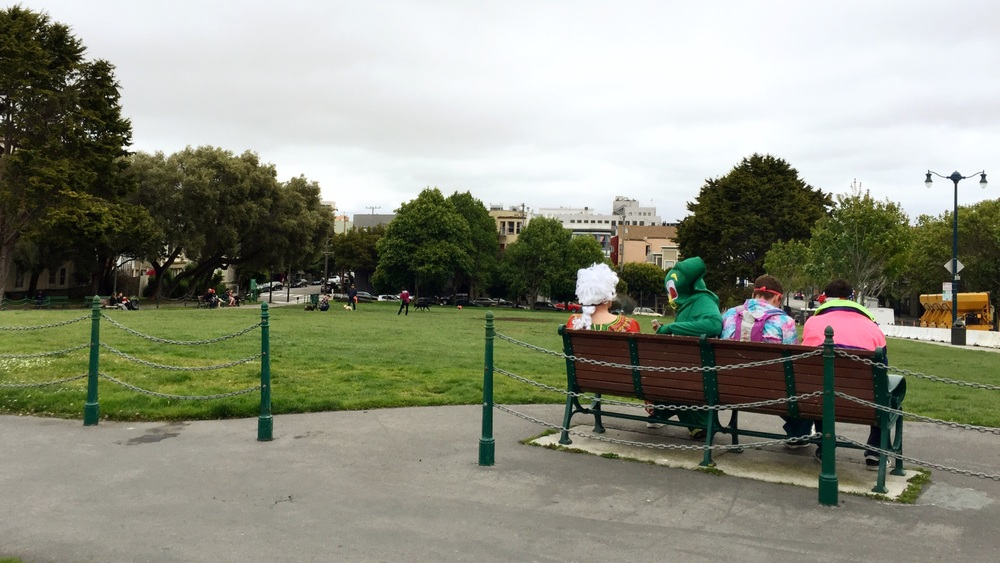 iPhone | Duboce Park | Morning