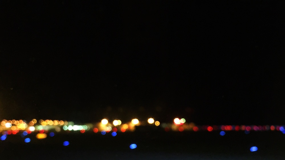 iPhone | Airplane Window | Night