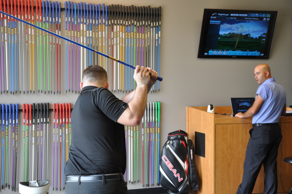Tour Select Golf uses the latest in ball flight monitor technology to understand and obtain the information needed to better custom fit you for the right equipment.