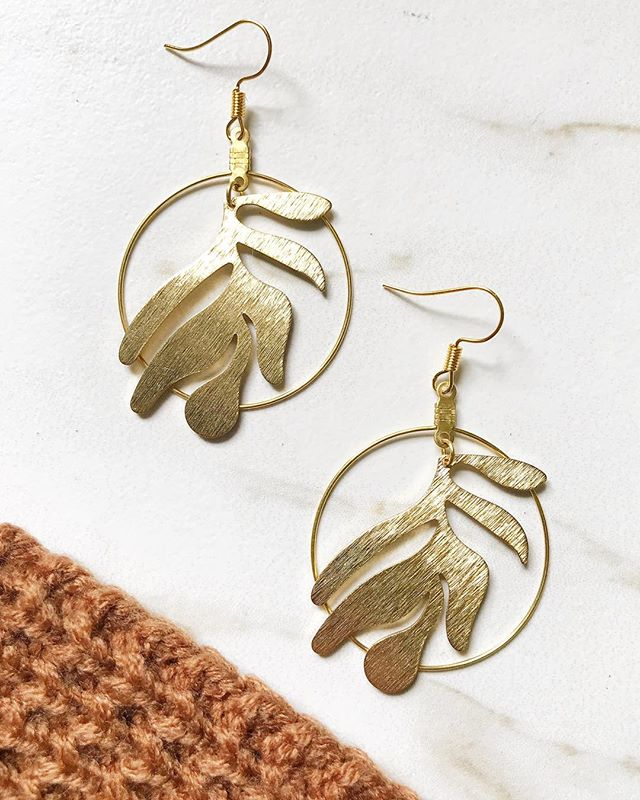 Some shiny new leaf hoops to get you in the mood for autumn 🍂