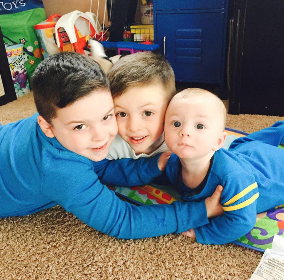 Joseph, Nino, Nicky — future boy band