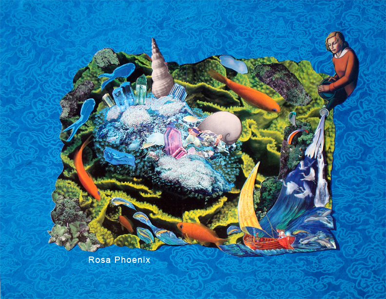 Collage by Rosa Phoenix