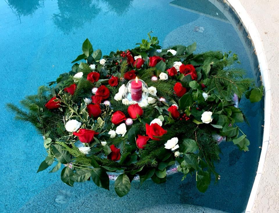 sacred rose floating mandala by Rosa Phoenix