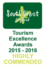 South West Tourism Award Highly Recommended