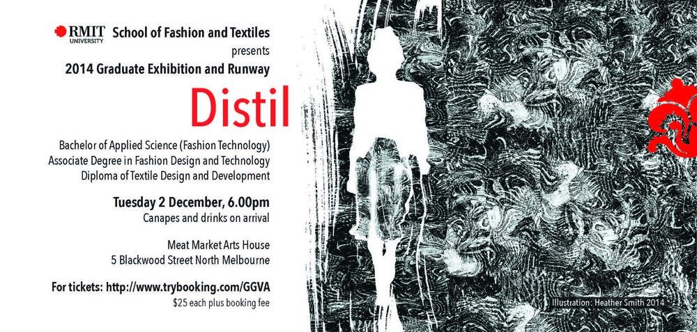 Details of the Fashion and Textiles graduation exhibition