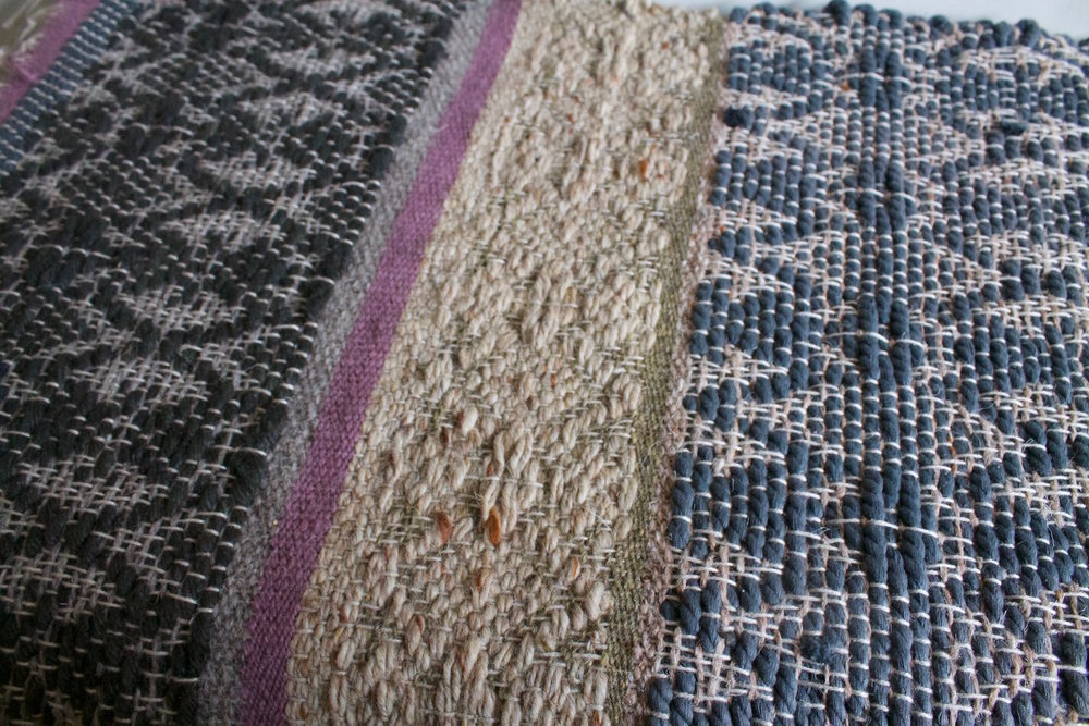 Nyssamtextiles Rug sample twill designs
