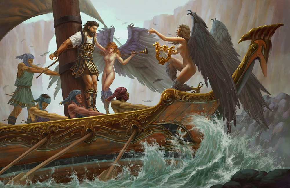 What are the challenges that Odysseus had to face on his journey home?