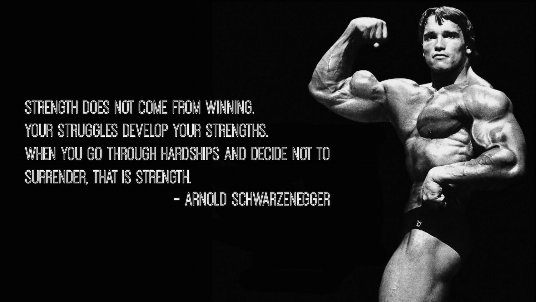 How Arnold Schwarzenegger's Relentless Willpower Made His