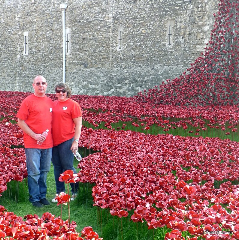 MOH and I among the #TowerPoppies