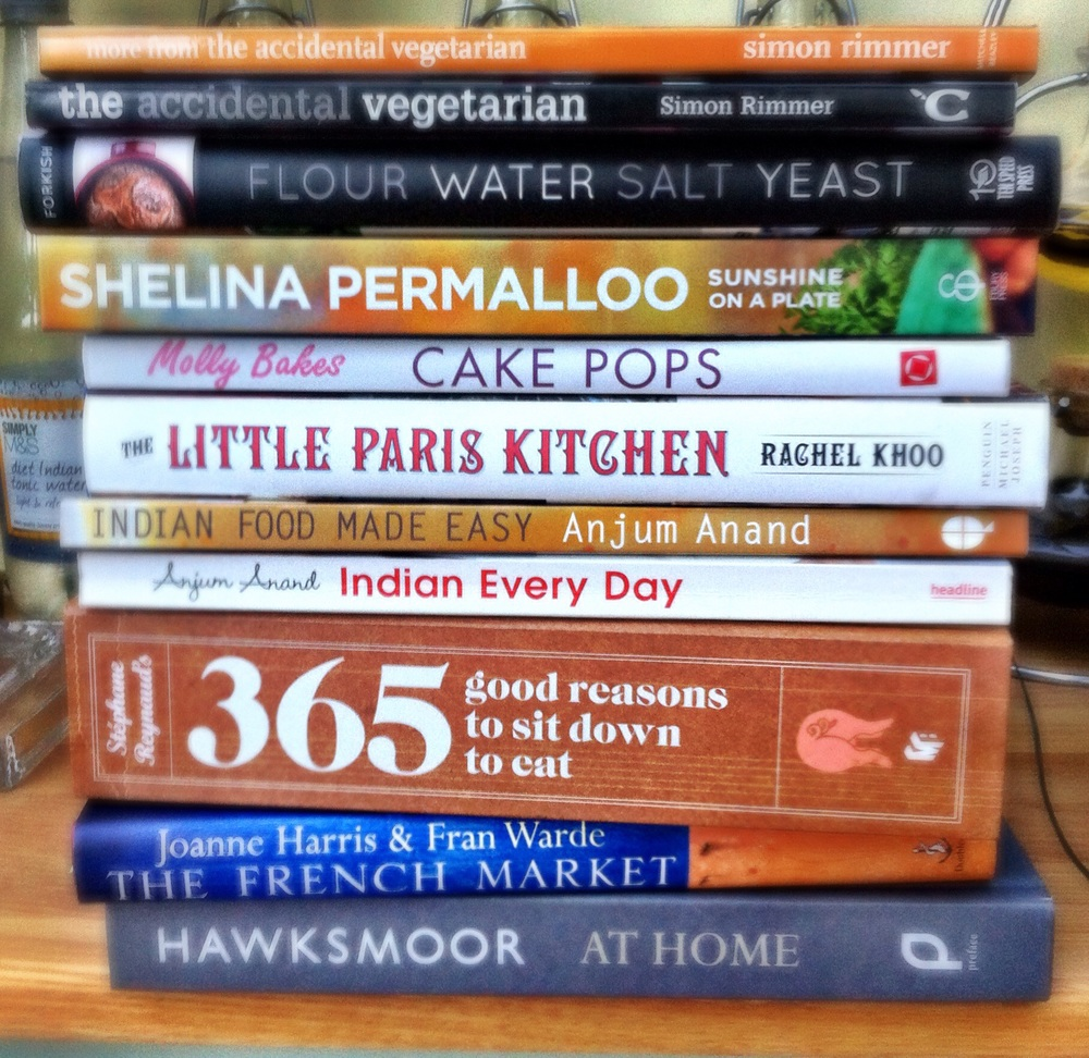 A few of the cookbooks that didn't feature in #52Cookbooks