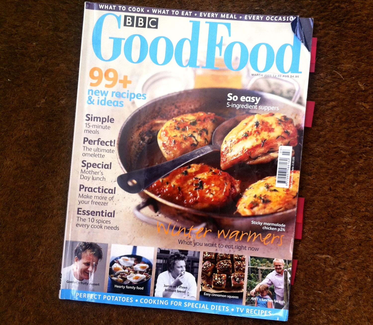 A Mag A Month: Good Food magazine, March 2005