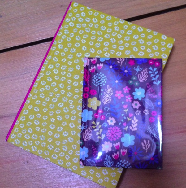 DAY 1: NEW, WELL NOTEBOOKS... OBVIOUSLY!