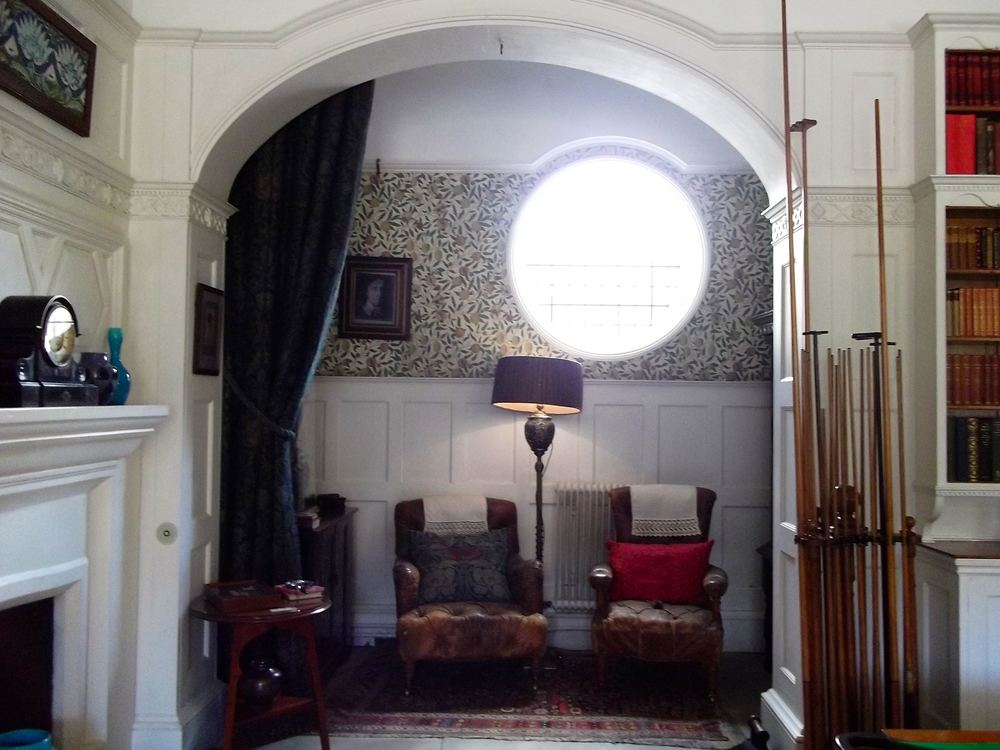 A COSY NOOK IN THE BILLIARD ROOM