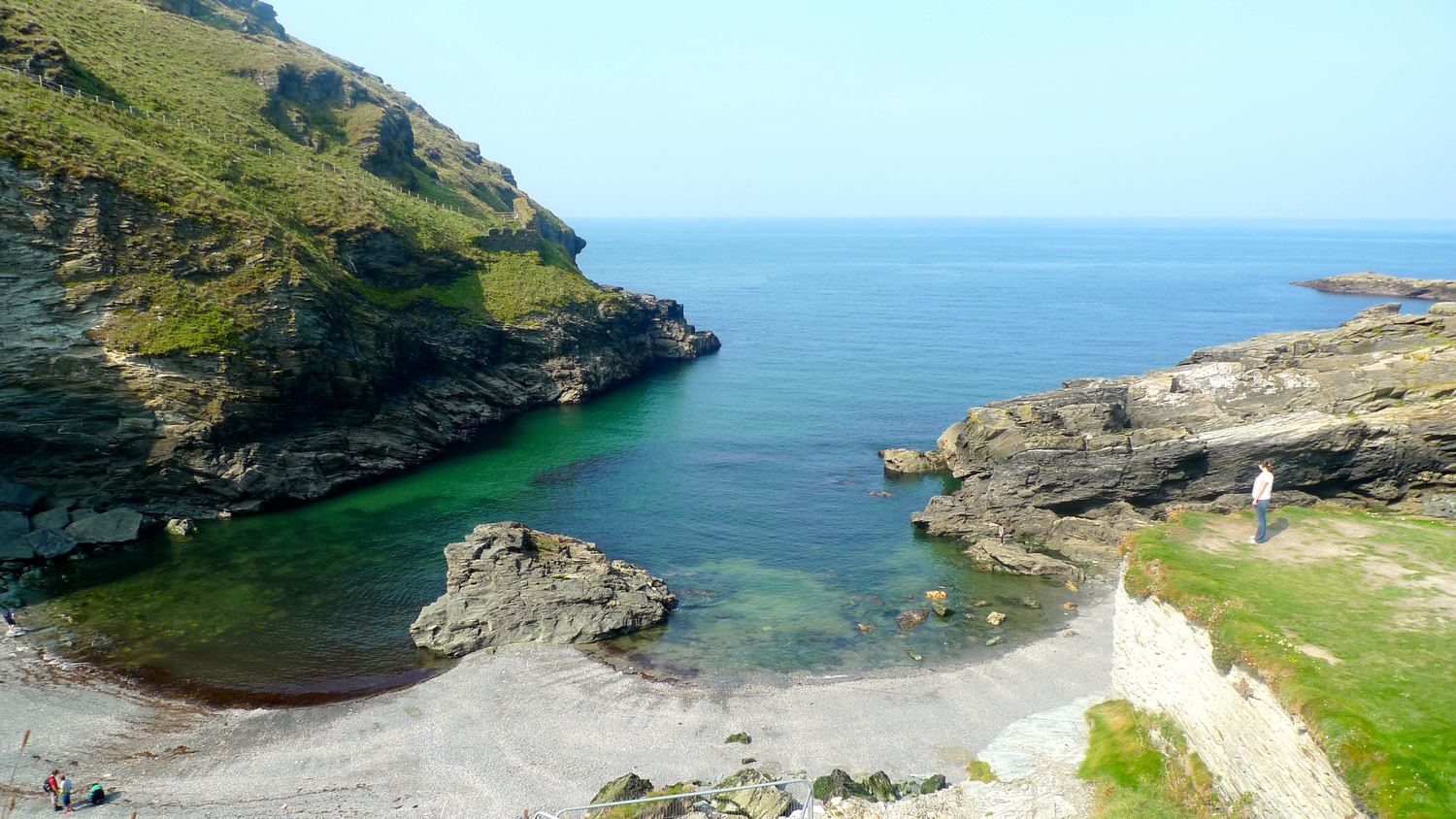Sun on Saturday: Barras Nose, lashings of ginger beer and Tintagel Castle
