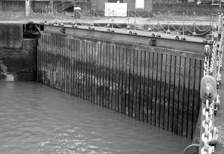 The lock at Albert Island