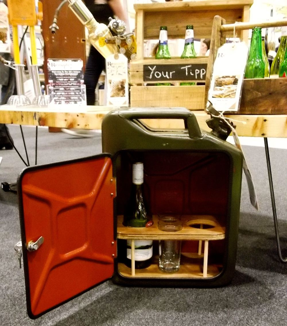 A JERRY CAN MINI-BAR