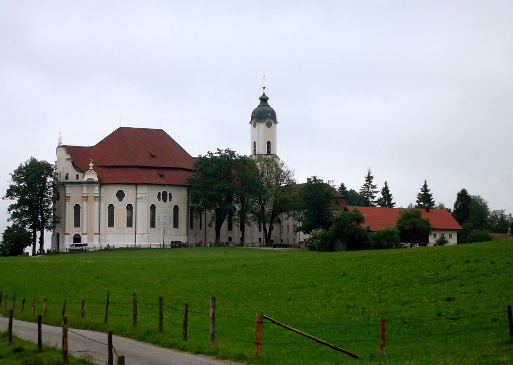 Wieskirche: ornately decorated and completely unexpected