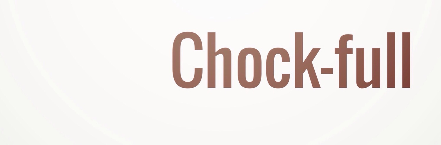 Word of the week: Chock-full