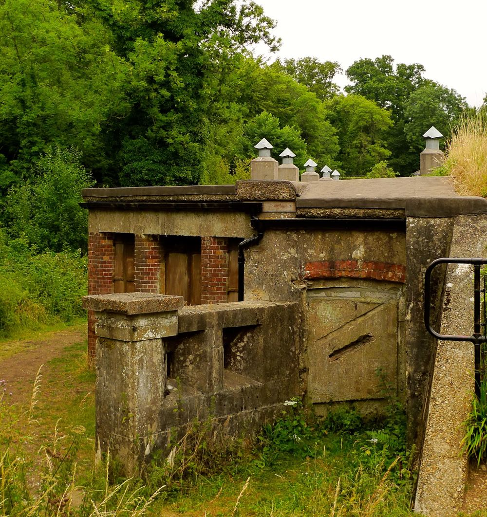 The Old Fort at Box Hill