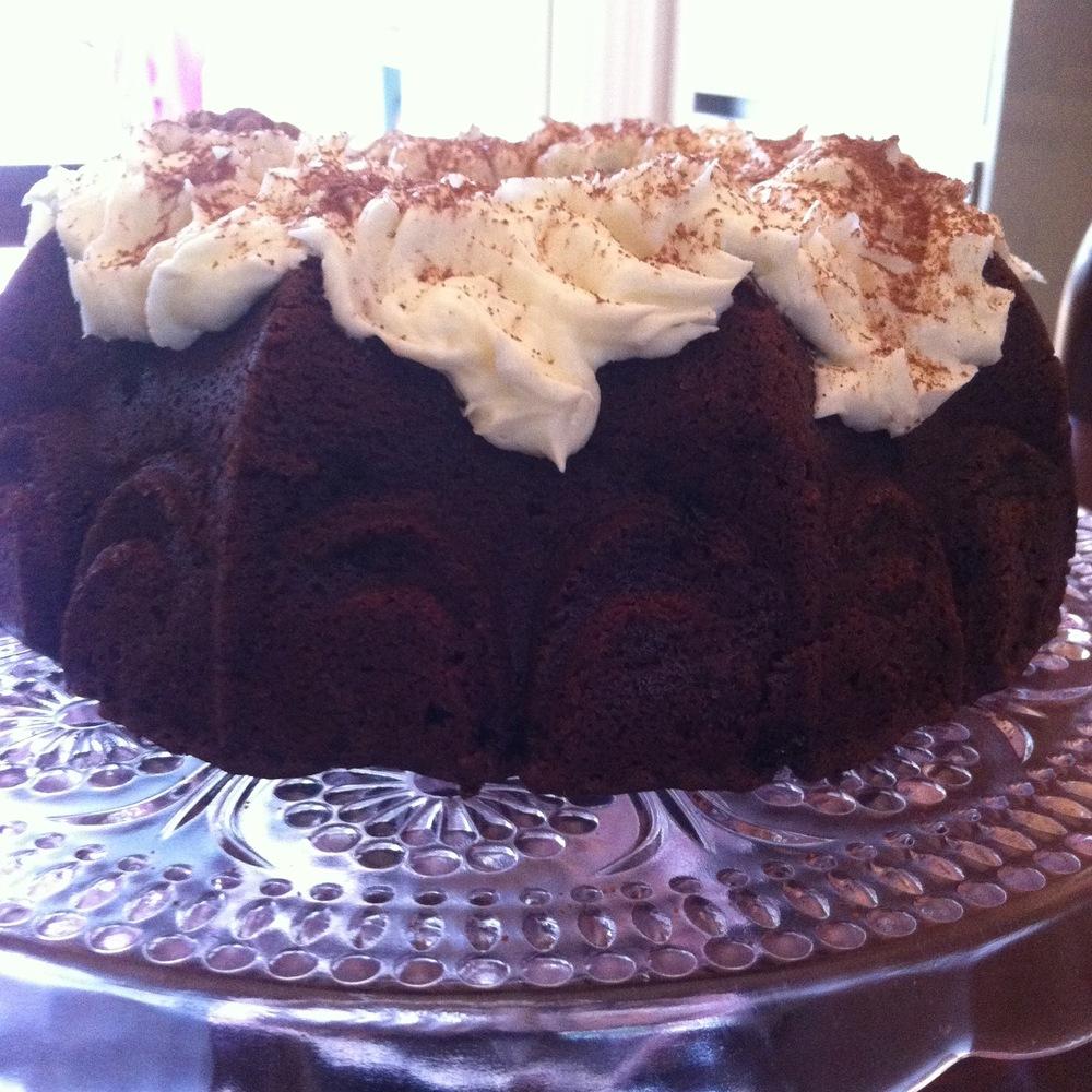 CHOCOLATE STOUT BUNDT CAKE