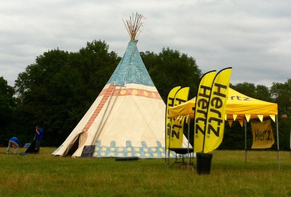 THE TIPI AT BLOGSTOCK