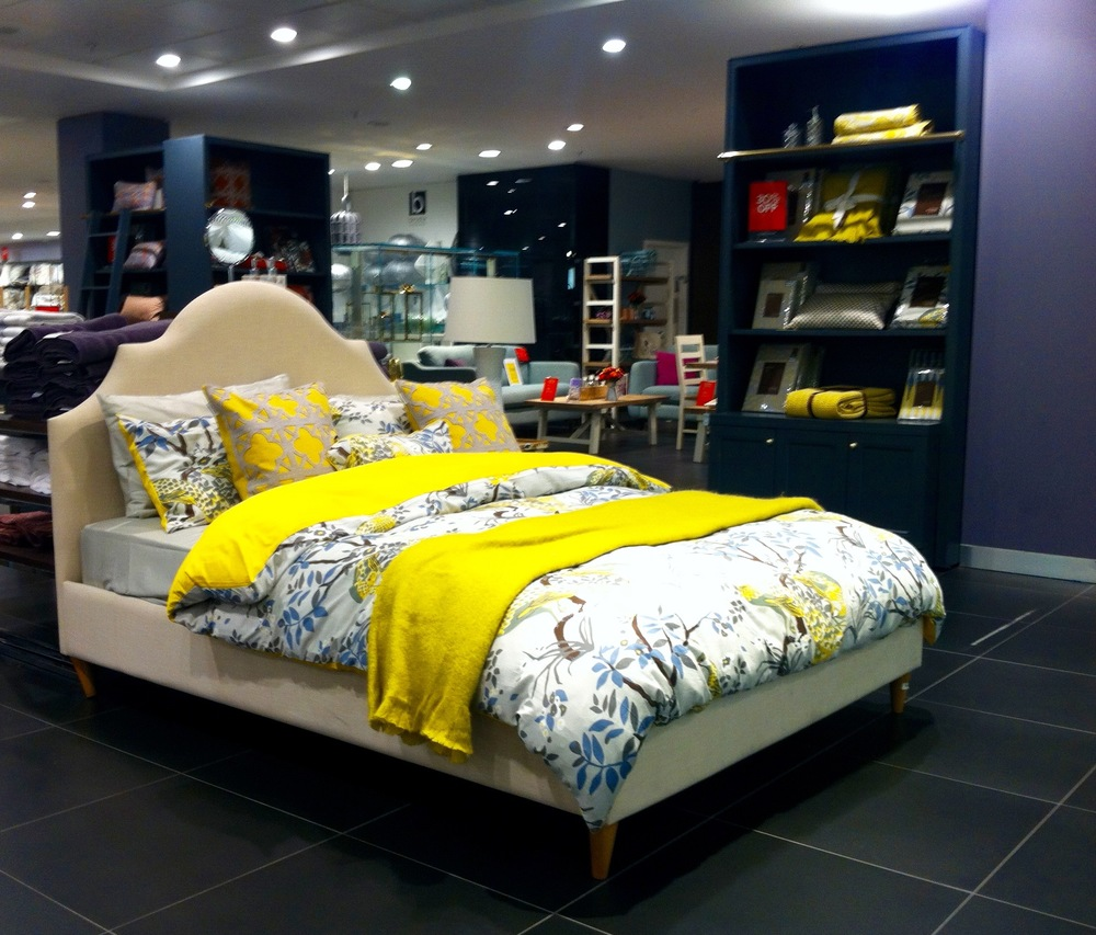 ACCENTS OF YELLOW IN HOUSE OF FRASER