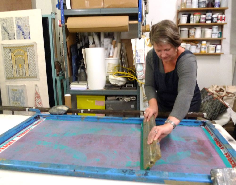 November: Screen printing with Daniel Heath
