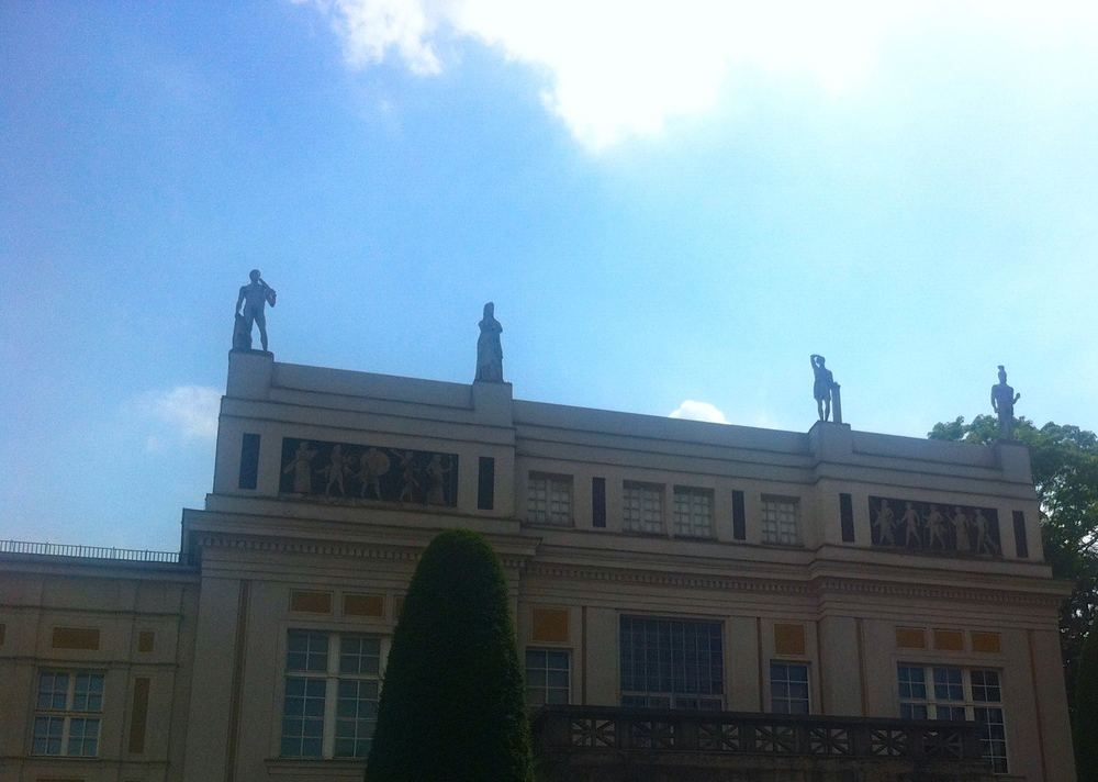 Statues on the Roof