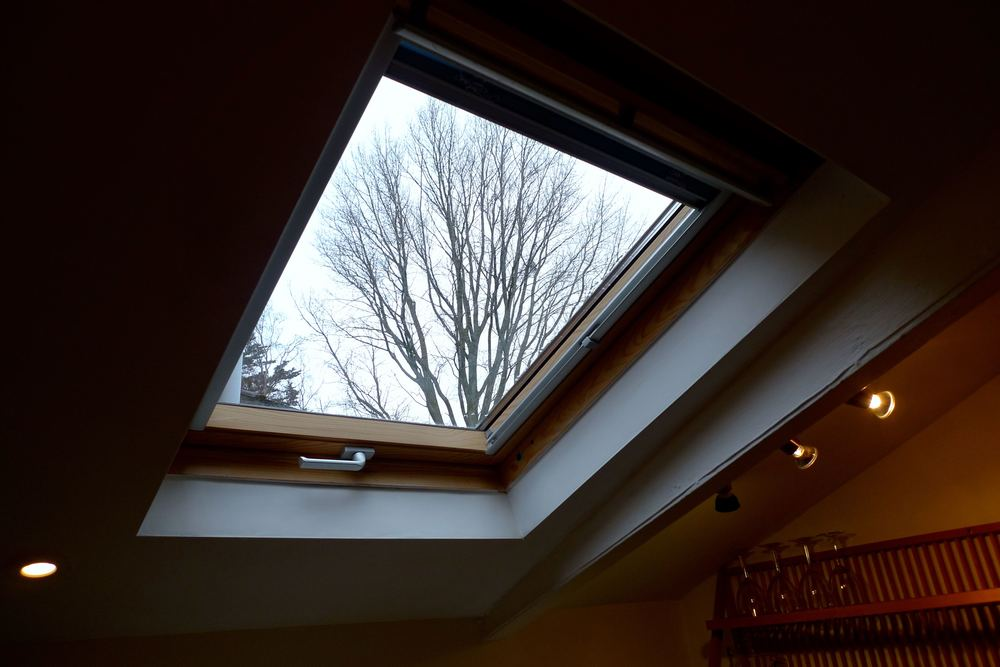 A skylight with a view