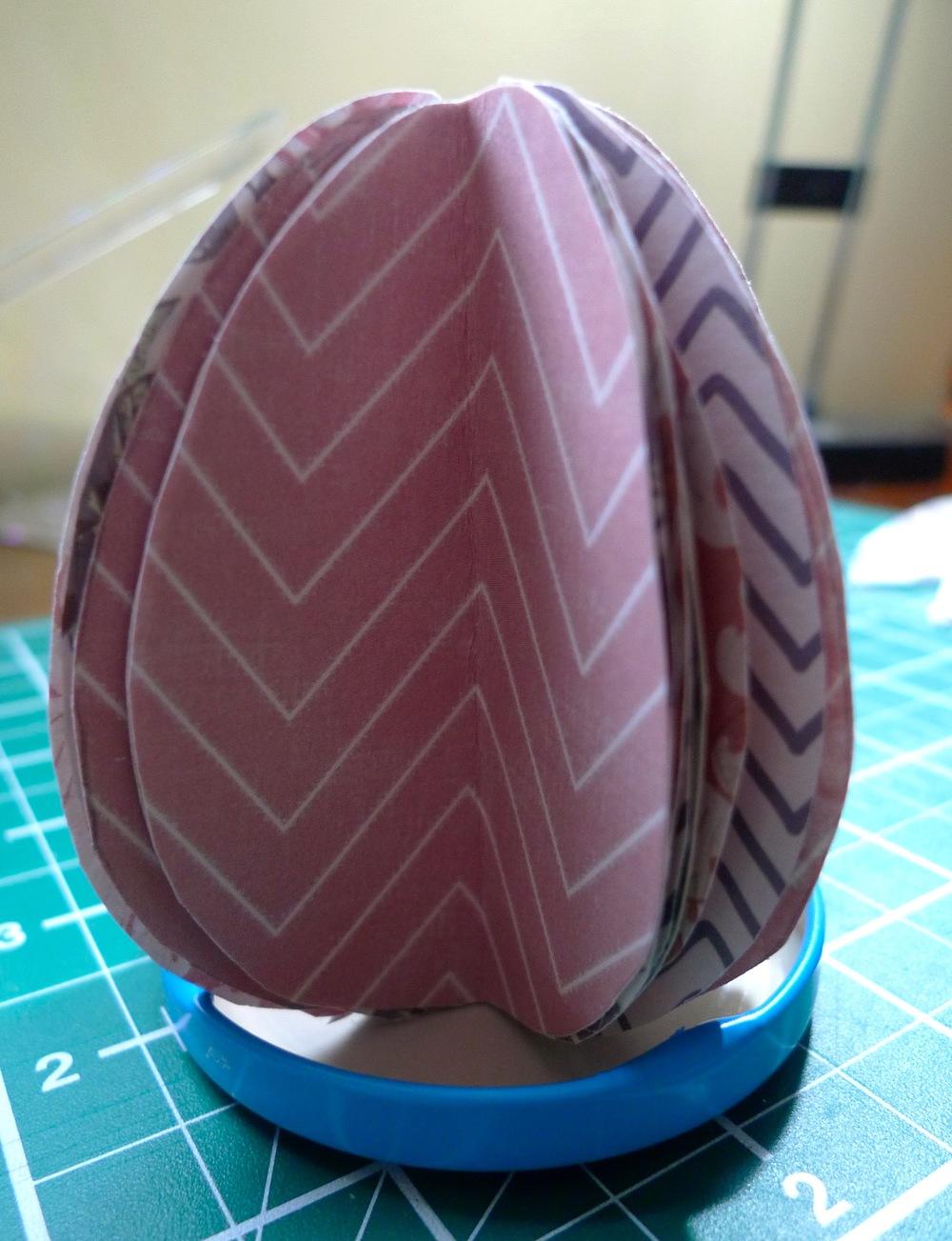 egg taking shape