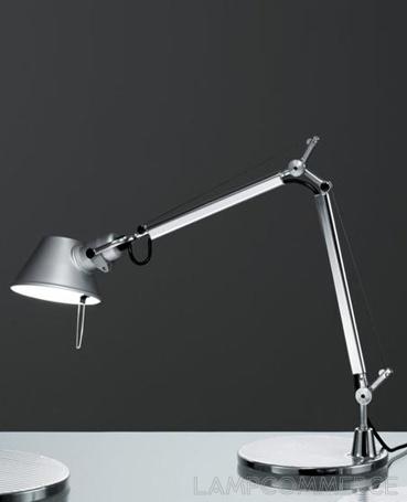 ARTEMIDE TOLOMEO MINI TABLE LAMP Photo credit: LampCommerce