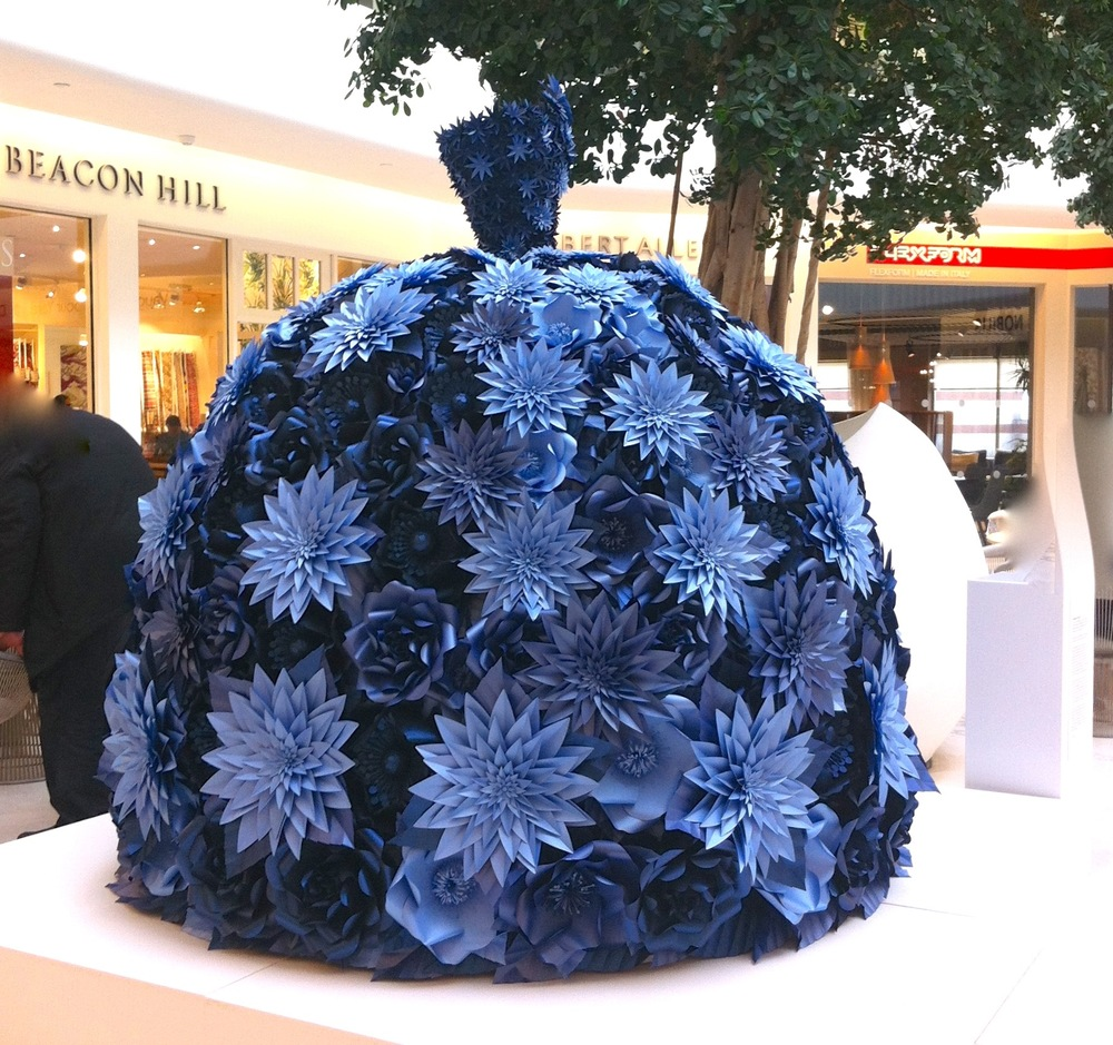 sculpture in paper