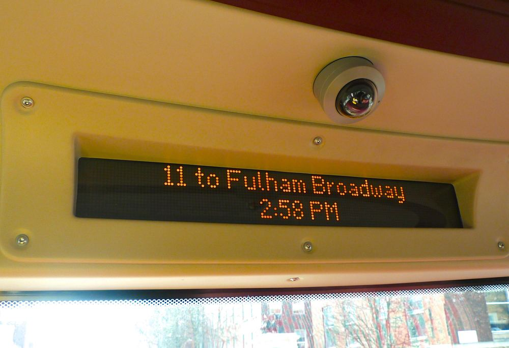 Route 11 to Fulham Broadway