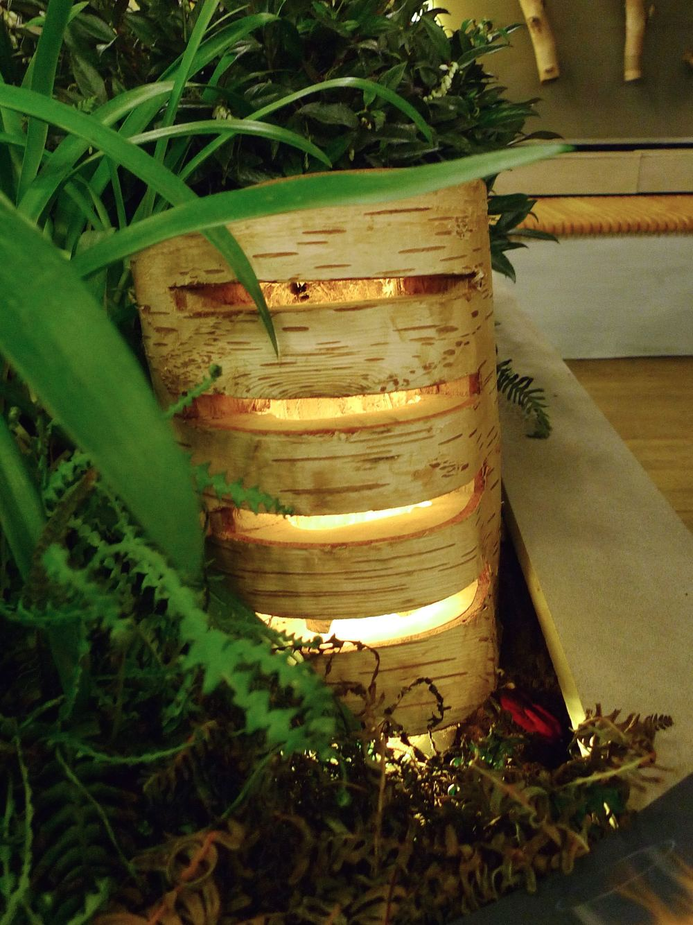 A log light