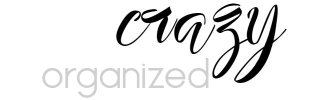 Crazy Organized Blog