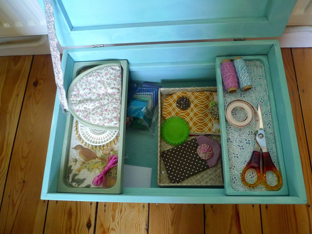 SEWING BOX BACK IN USE