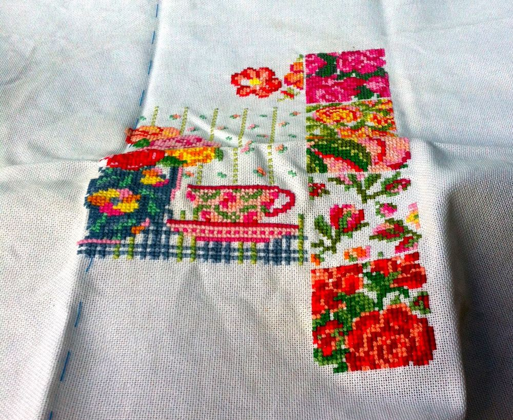 THAT CROSS STITCH AGAIN