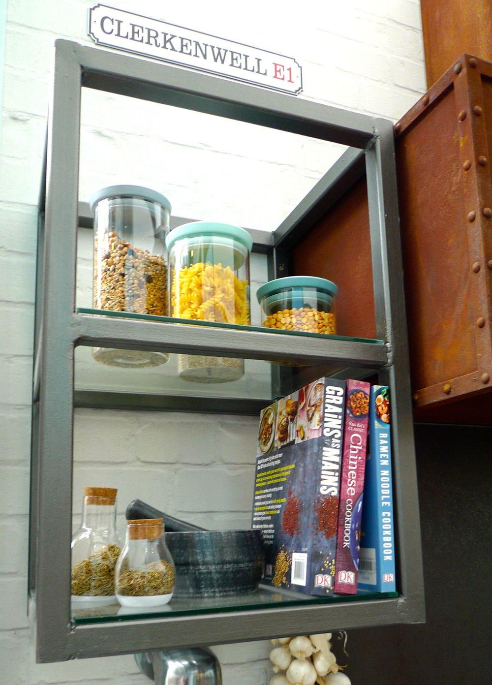 open shelf storage unit