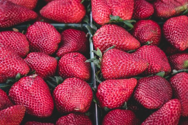 strawberries from unsplash