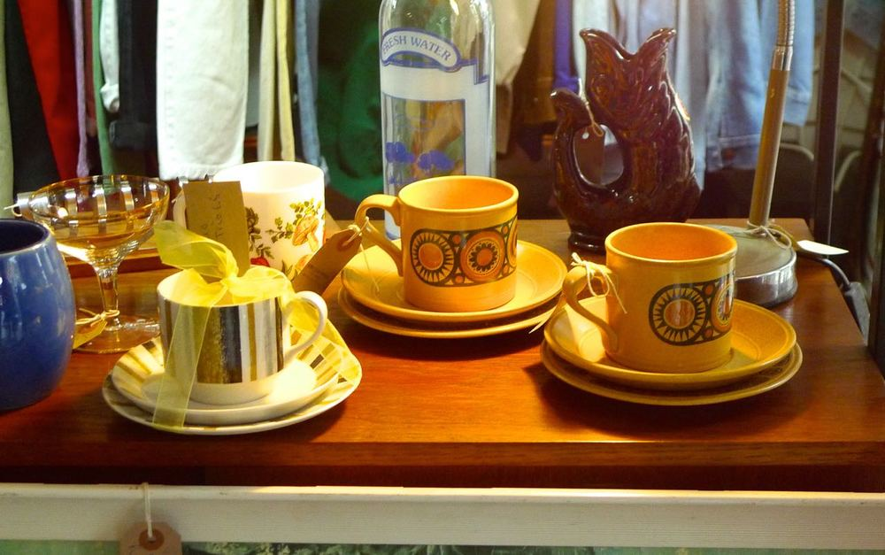Seventies tea set