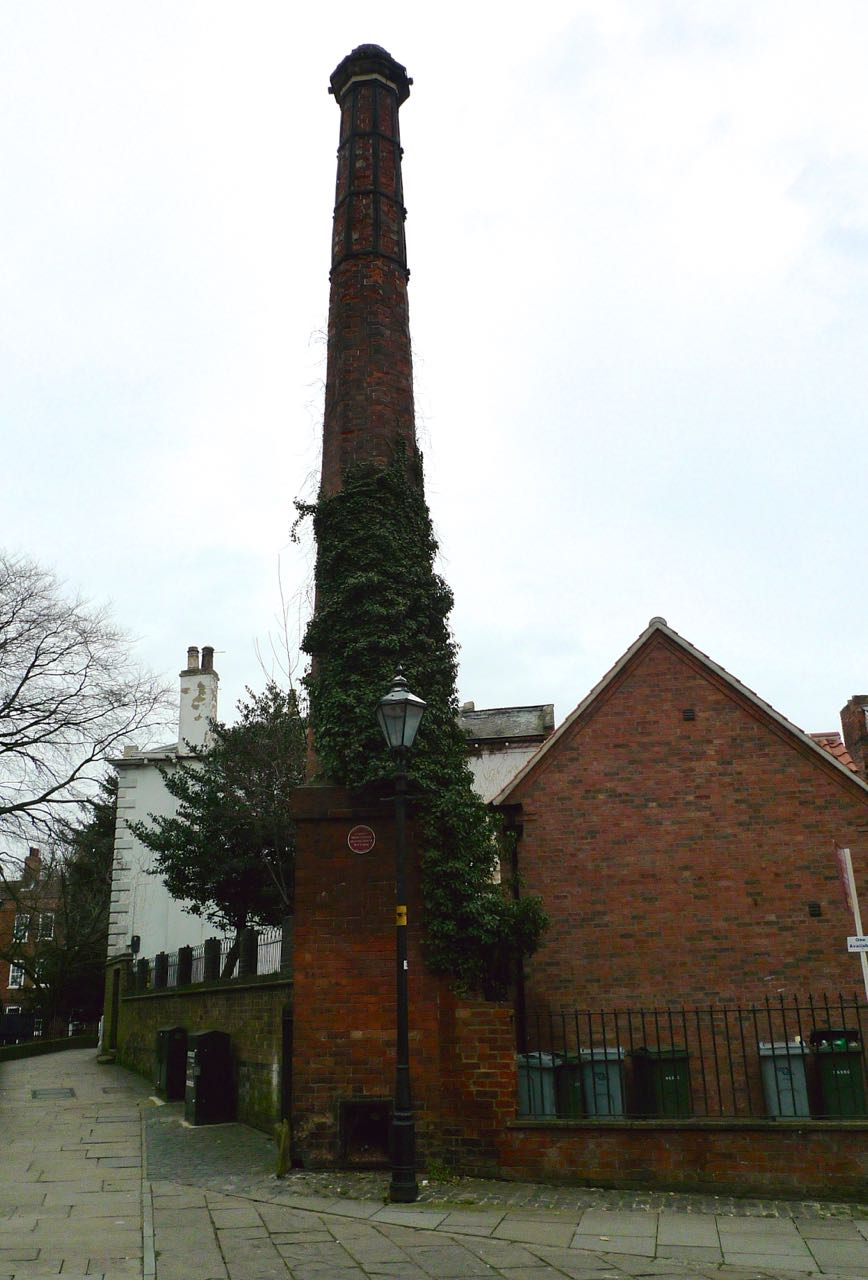 THE CHURCH'S CHIMNEY