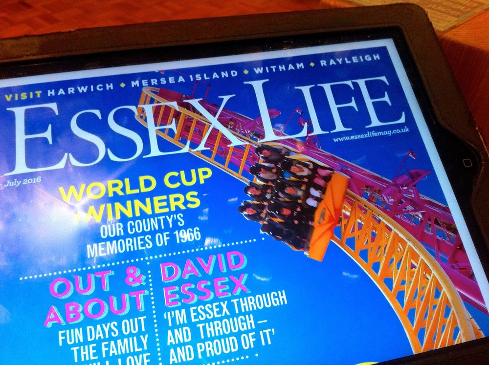 Essex Life is one of the many county magazines available in Readly